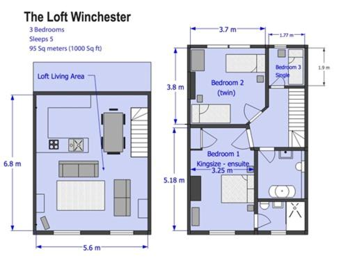 The Loft Winchester - Laterooms
