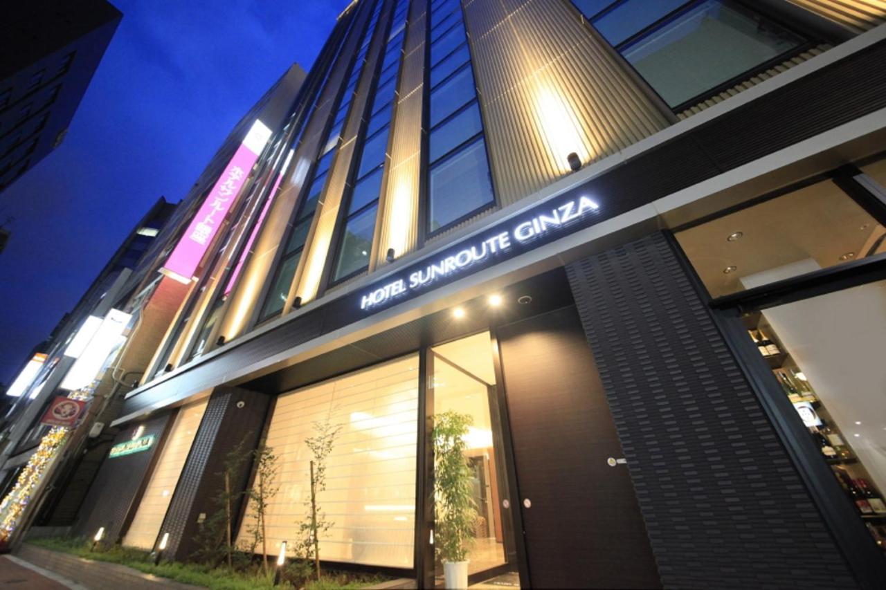 MID-RANGE:Hotel Sunroute Ginza