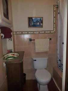 Ein Badezimmer in der Unterkunft Hotel Casa del Cerro