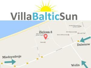 Widok z lotu ptaka na obiekt Apartamenty Villa Baltic Sun I
