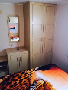 Кровать или кровати в номере Eco-camping Valterra