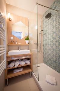 Ein Badezimmer in der Unterkunft Residhome Nice Promenade