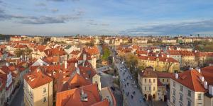 A bird's-eye view of Mandarin Oriental, Prague