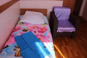 Кровать или кровати в номере Hotel Rus