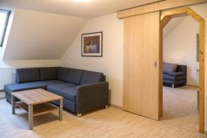 Гостиная зона в Pension & Reitstall Inghofer