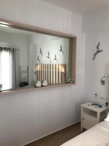Ein Badezimmer in der Unterkunft Yanna Luxury Suites (Asteri Suites)