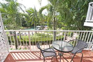 A balcony or terrace at Cairns Beach Resort