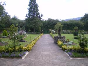 Jardín al aire libre en Etxebarri Landetxea