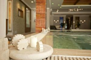 The swimming pool at or near Hotel Argentina & SPA