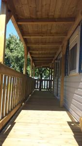 Ein Balkon oder eine Terrasse in der Unterkunft Campeggio Amici di Lazise