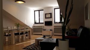 Część wypoczynkowa w obiekcie Apartament Krakowska