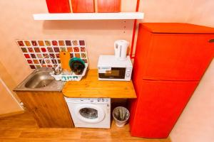 A kitchen or kitchenette at Apartment in center VVO