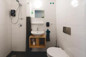 A bathroom at Hotel Nimma