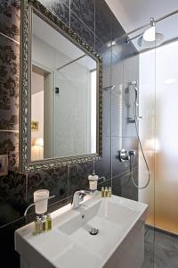 Koupelna v ubytování Zámek Ratměřice - Hotel & Resort