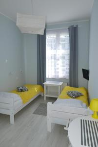 A bed or beds in a room at Grande Sopotiera