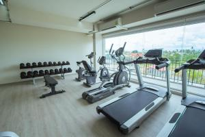 Palestra o centro fitness di Panphuree Residence SHA