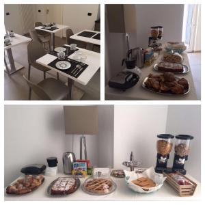 Breakfast options available to guests at Al Tartarughino B&B