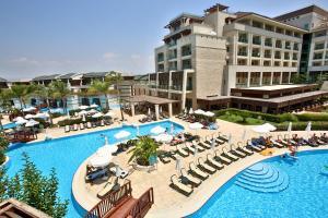 The swimming pool at or near Sunis Kumkoy Beach Resort Hotel & Spa