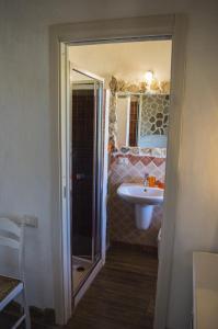 A bathroom at B&B Gianni e Pia