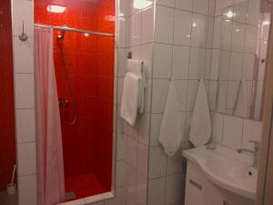 Ванная комната в База Отдыха Онега