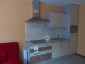 Кухня или мини-кухня в База Отдыха Онега