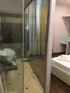 Ванная комната в Hotel Moderno