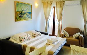 Cama o camas de una habitación en Rondina House