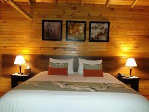 A bed or beds in a room at Termas de Papallacta