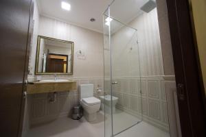 Ванная комната в Отель Бульвар