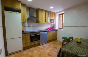 A cozinha ou kitchenette de Casa Roblan