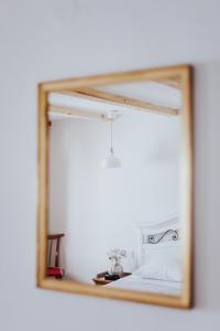 A bathroom at Casa Milina