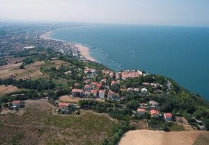Vista aerea di Residence Viamaggio ApartHotel