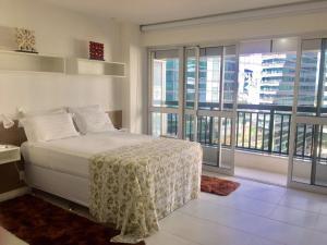 Cama ou camas em um quarto em Apart-Hotel Setor Hoteleiro Norte