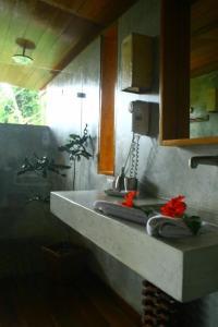 Una cocina o zona de cocina en Hotel Finca Maresia