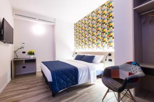 Letto o letti in una camera di Aparthotel Isola