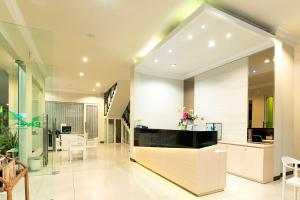 The lobby or reception area at Riverstone Hotel & Cottage