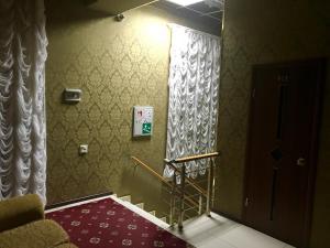 Ванная комната в Hotel Monarkh