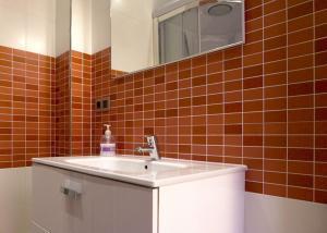 A bathroom at O Curruncho dos Lopez