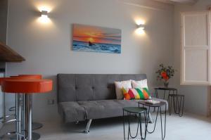 Zona de estar de Apartamentos La Harinera