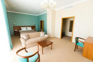 Гостиная зона в Отель Воробьевы Горы