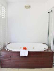 A bathroom at 6421 BEACH CLUB