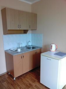 Кухня или мини-кухня в Гостиница КАМАЗ