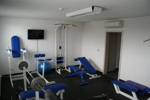 The fitness centre and/or fitness facilities at Hotel Metropol