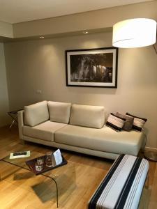 A seating area at Hotel Metropolitano Supara