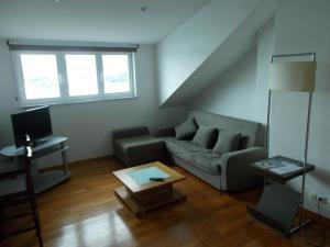 Zona de estar de Apartamento Ría de Ribadeo