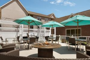 A restaurant or other place to eat at Residence Inn Canton