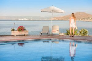 The swimming pool at or near Balos Beach