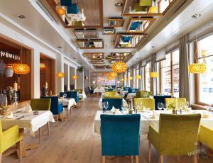 Een restaurant of ander eetgelegenheid bij Hotel der Wiesenhof