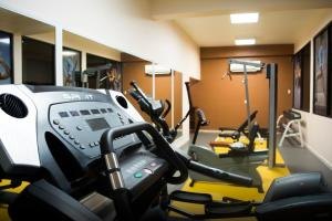 The fitness center and/or fitness facilities at Tabasco Inn