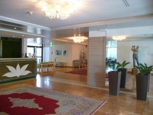 The lobby or reception area at Hotel Marina Uno